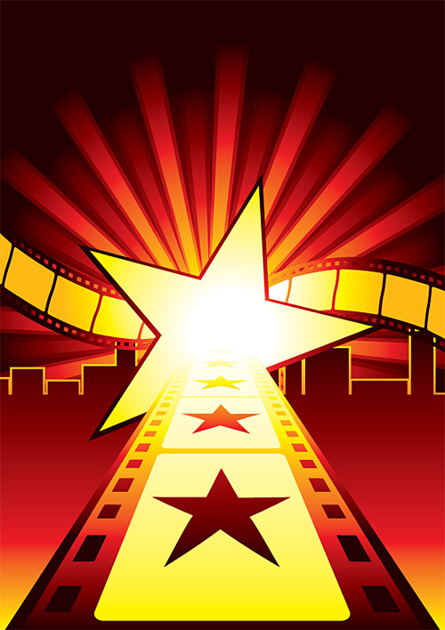 film clip festival vector movie posters graphic wallpapersafari code