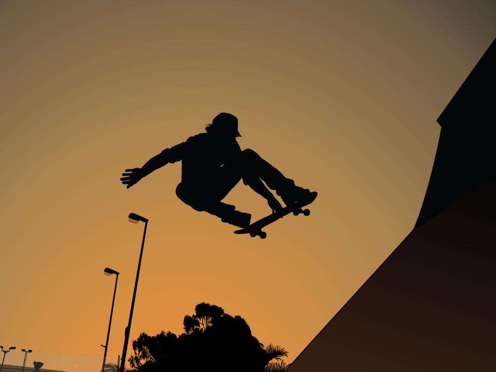 Wallpapers   skate park by obrobkareczna   Customizeorg 1000x750