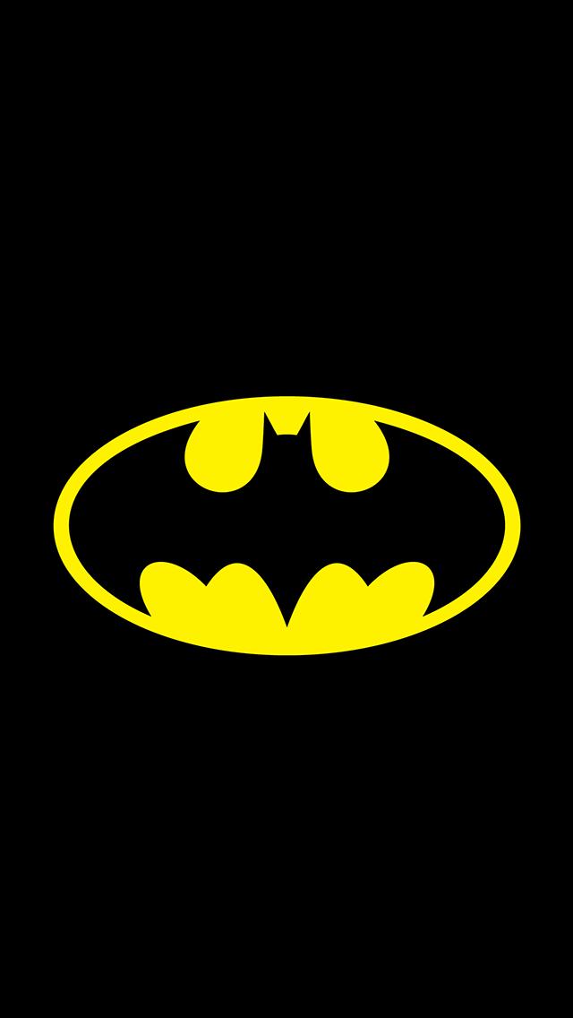 Batman Original Logo iPhone 5 Wallpaper 640x1136 640x1136