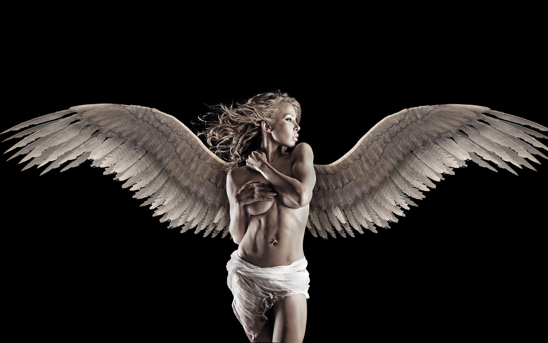 Sexy angel desktops