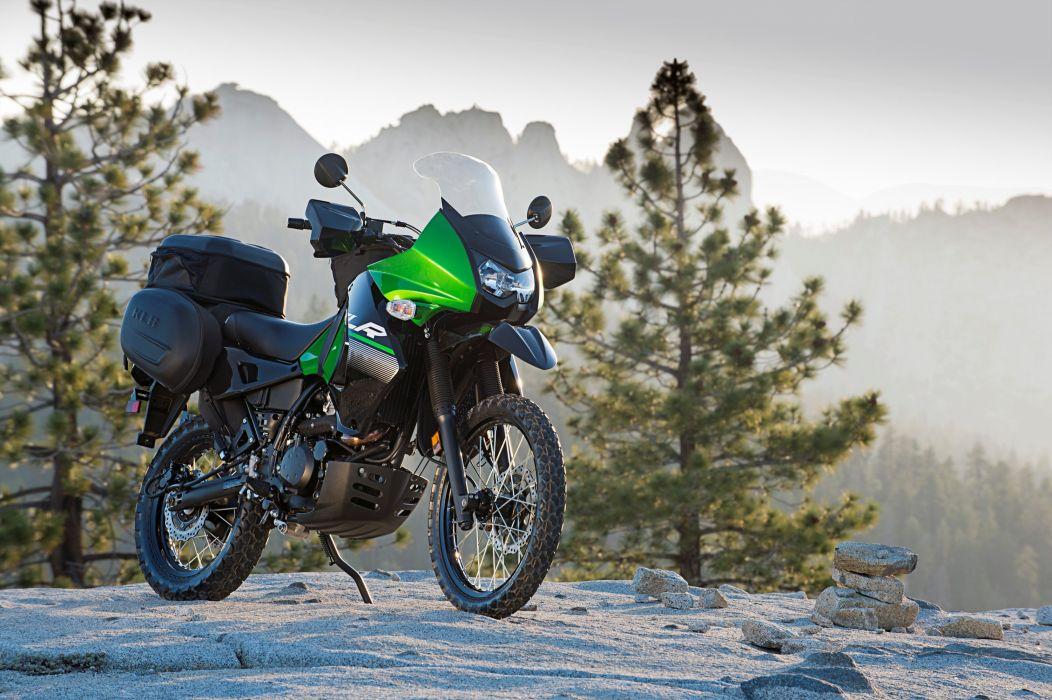 Kawasaki KLR 650 motorcycles 2009 wallpaper 3000x1996 1029858 1052x700