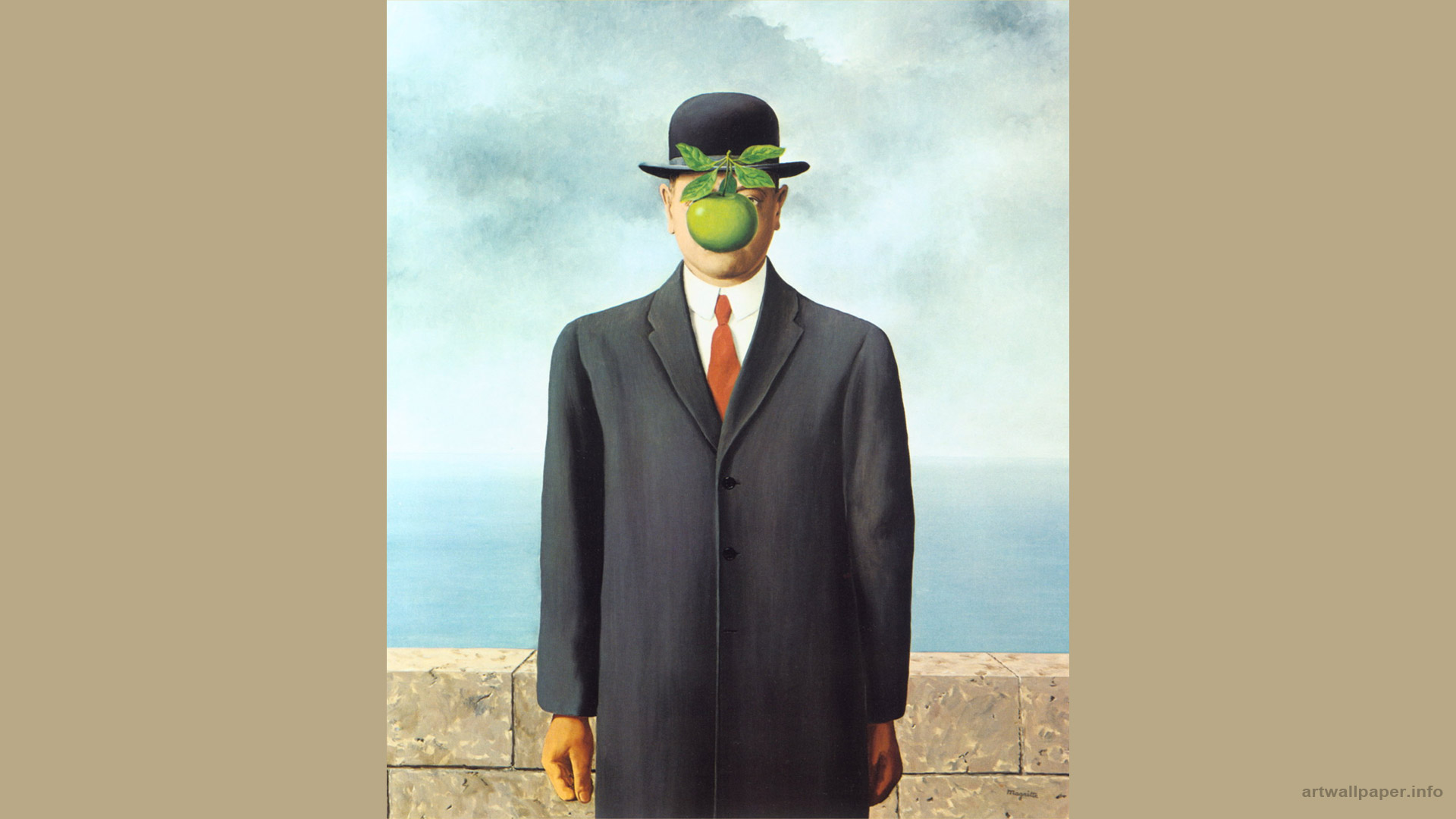 Rene Magritte Wallpaper 1920x1080