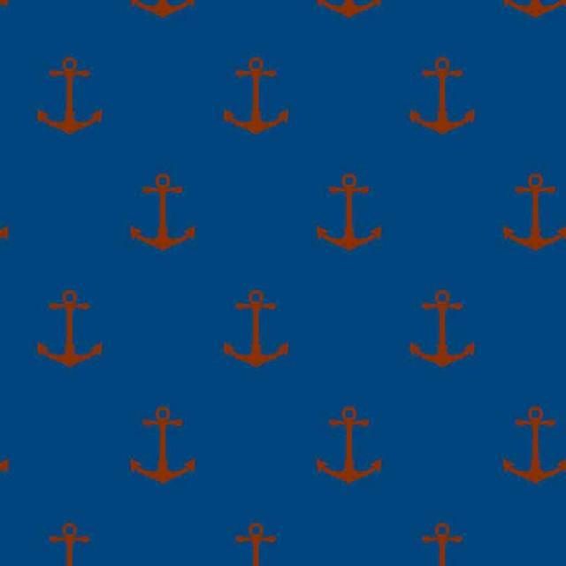 Navy Anchor Wallpaper Anchor navy red s002403 640x640