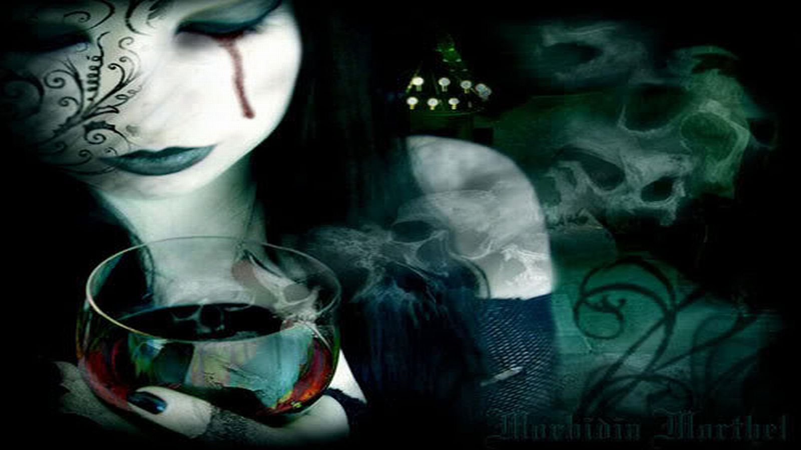 Dark Gothic Wallpaper 1600x900 Dark Gothic 1600x900