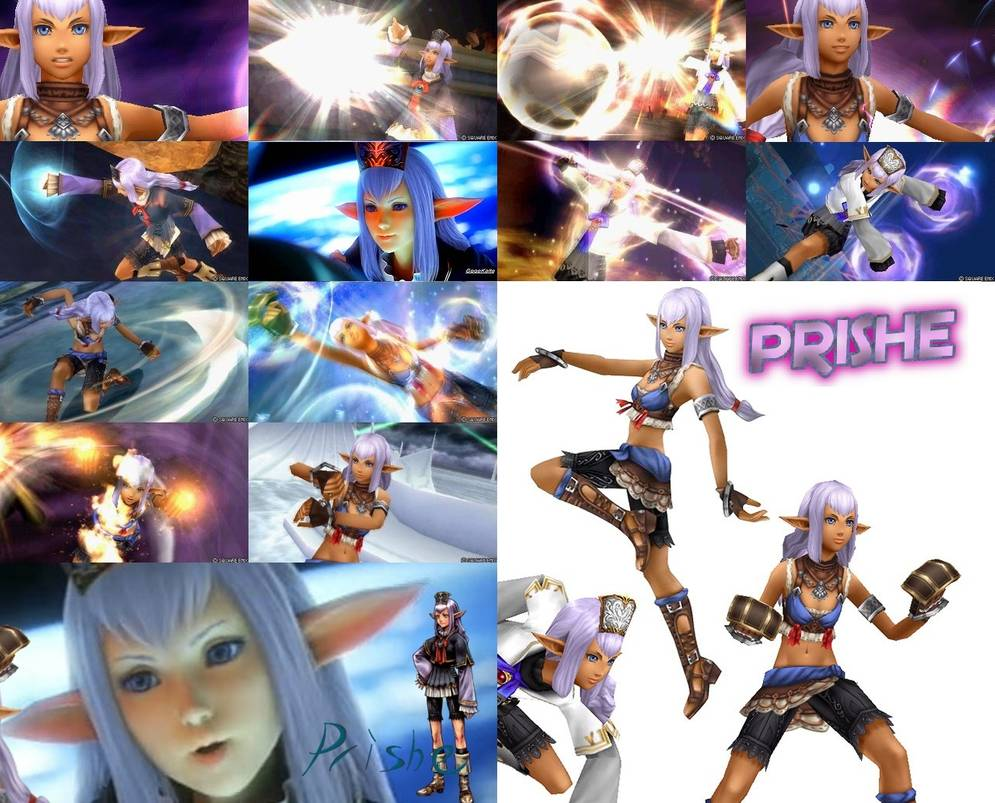 Prishe Dissidia 012 Elvaan Monk Wallpaper by FroztBlayze 995x803