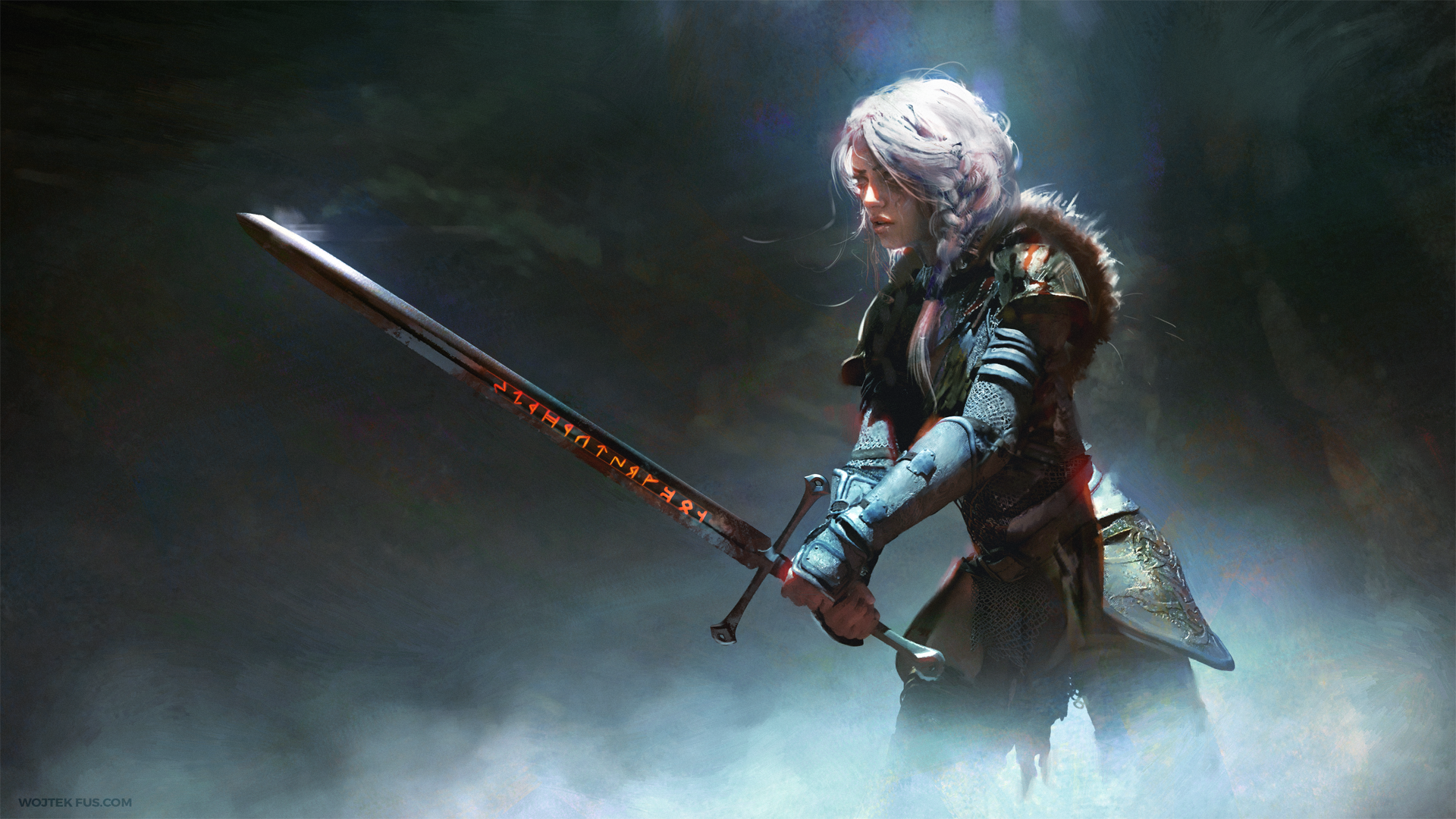 107 Ciri The Witcher HD Wallpapers Background Images 1920x1080