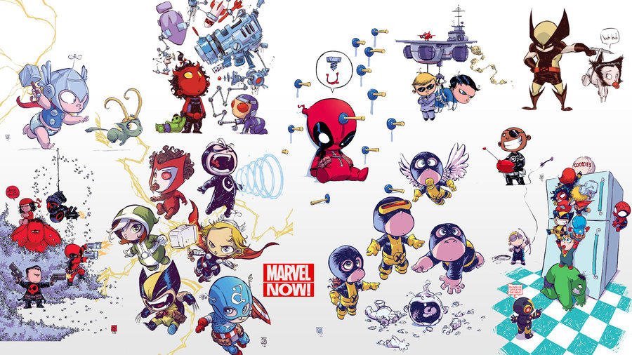 Marvel Now 1080p Wallpaper   Baby Edition by crashfellow 900x506