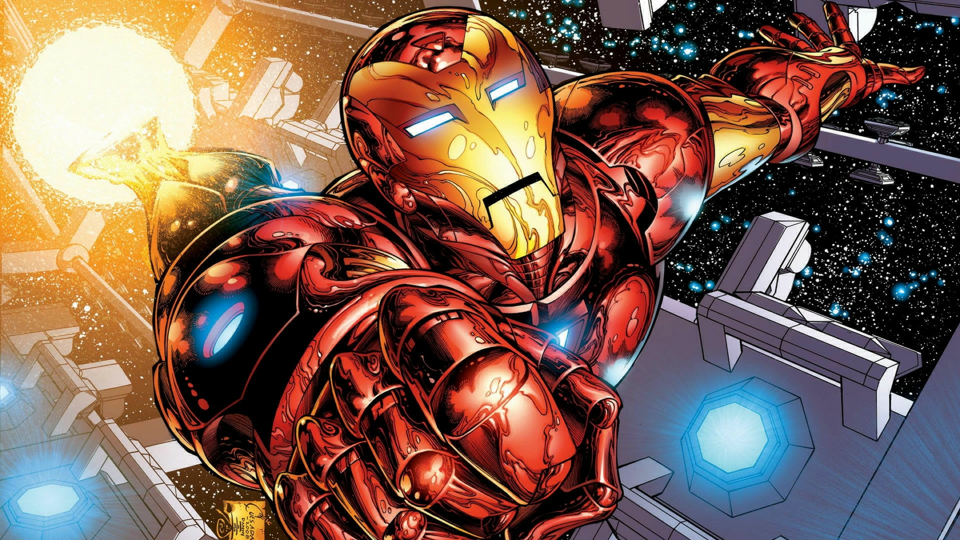 50 iron man screensavers and wallpaper on wallpapersafari - Iron man cartoon hd ...