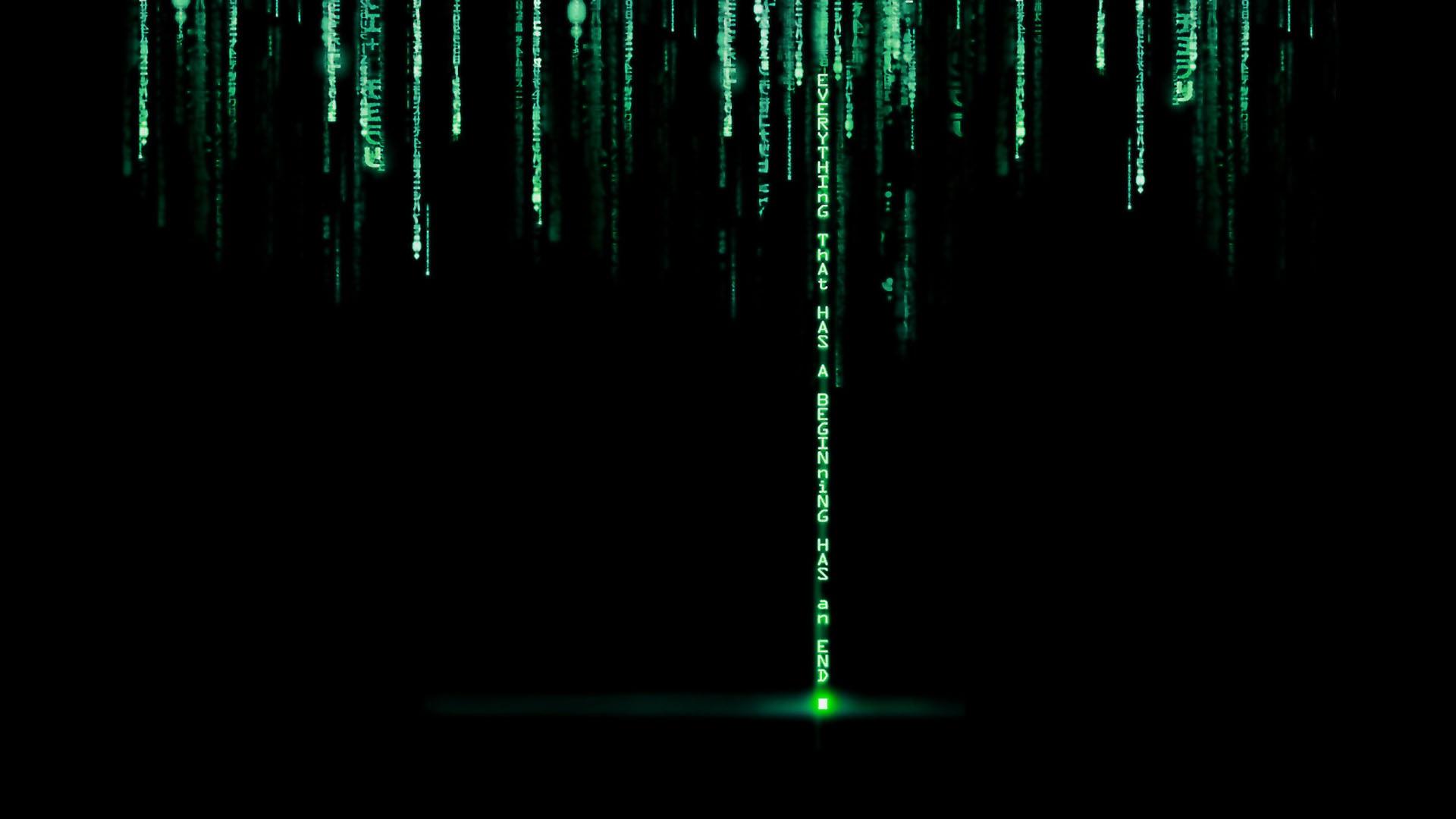 Matrix Code Wallpaper 1920x1080 Matrix Code 1920x1080
