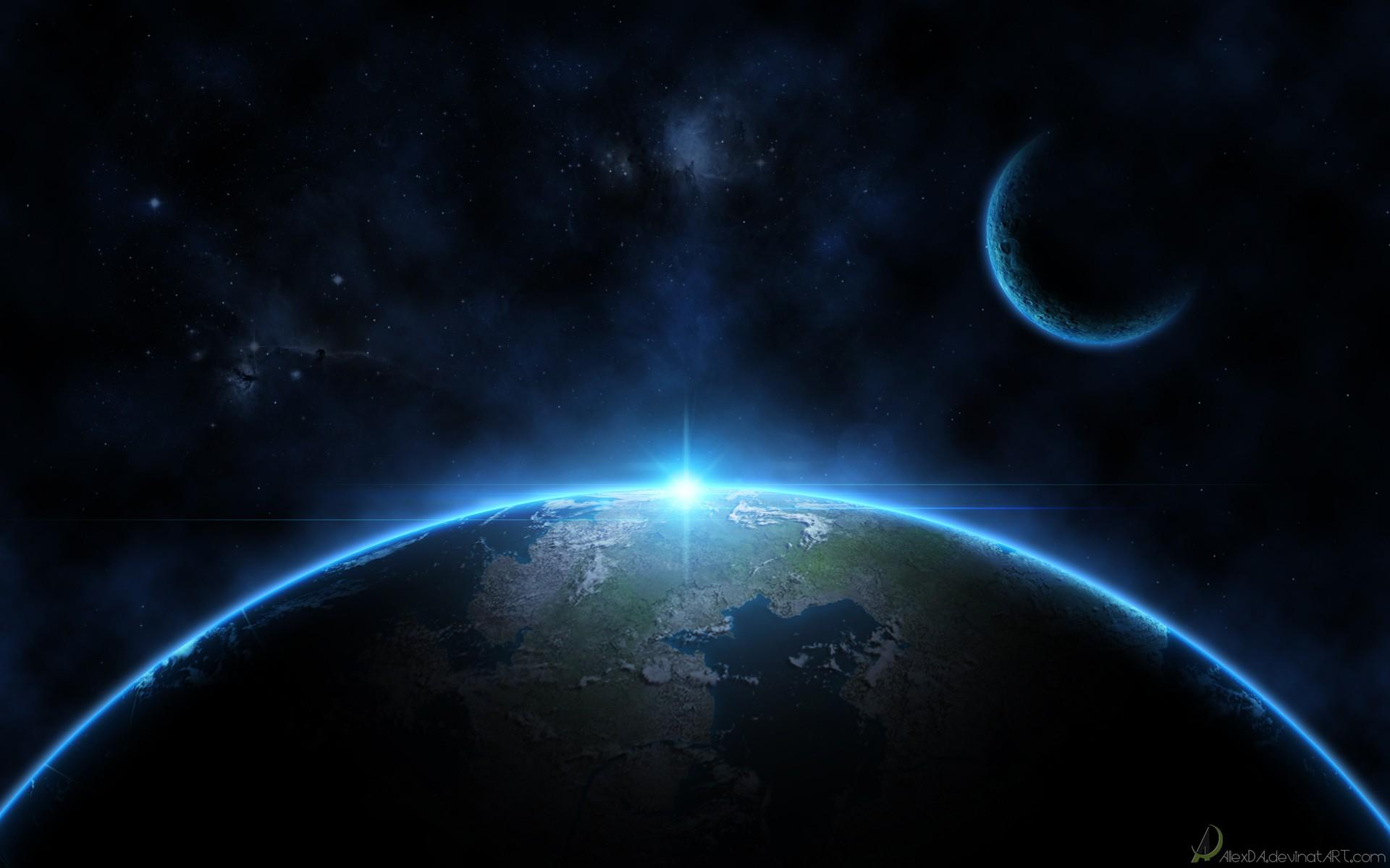 Download Moon Earth Wallpaper 1920x1200 Wallpoper 420803 1920x1200