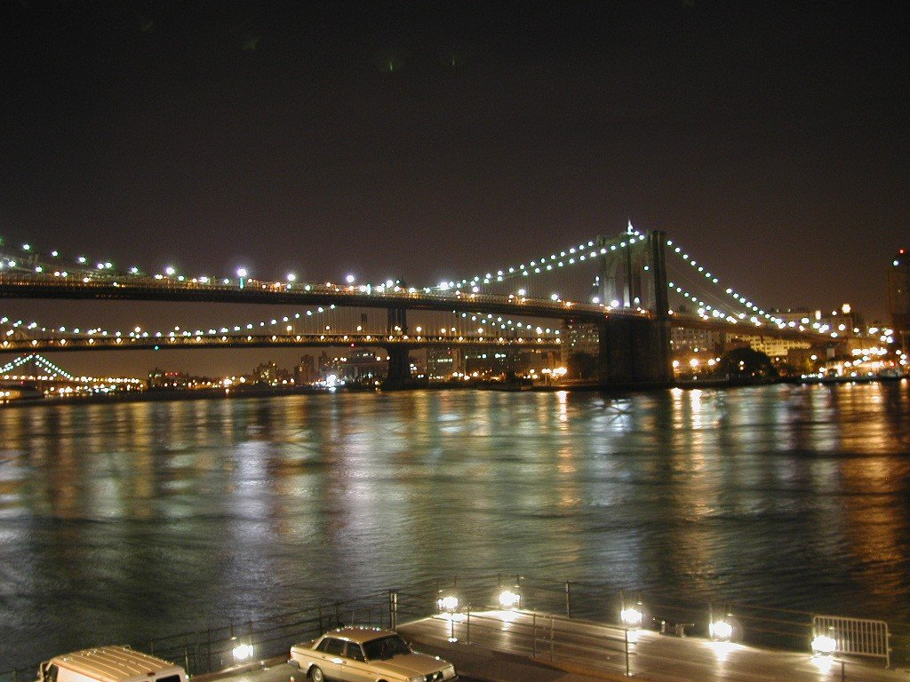 HD Desktop Wallpaper: brooklyn bridge background