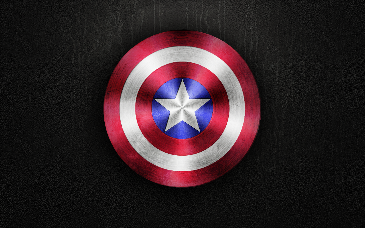 Captain America Shield Wallpaper Captain americas shield by 1280x800