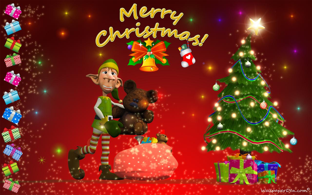 Merry Christmas Desktop Wallpaper 352647   HD Wallpaper 1280x800