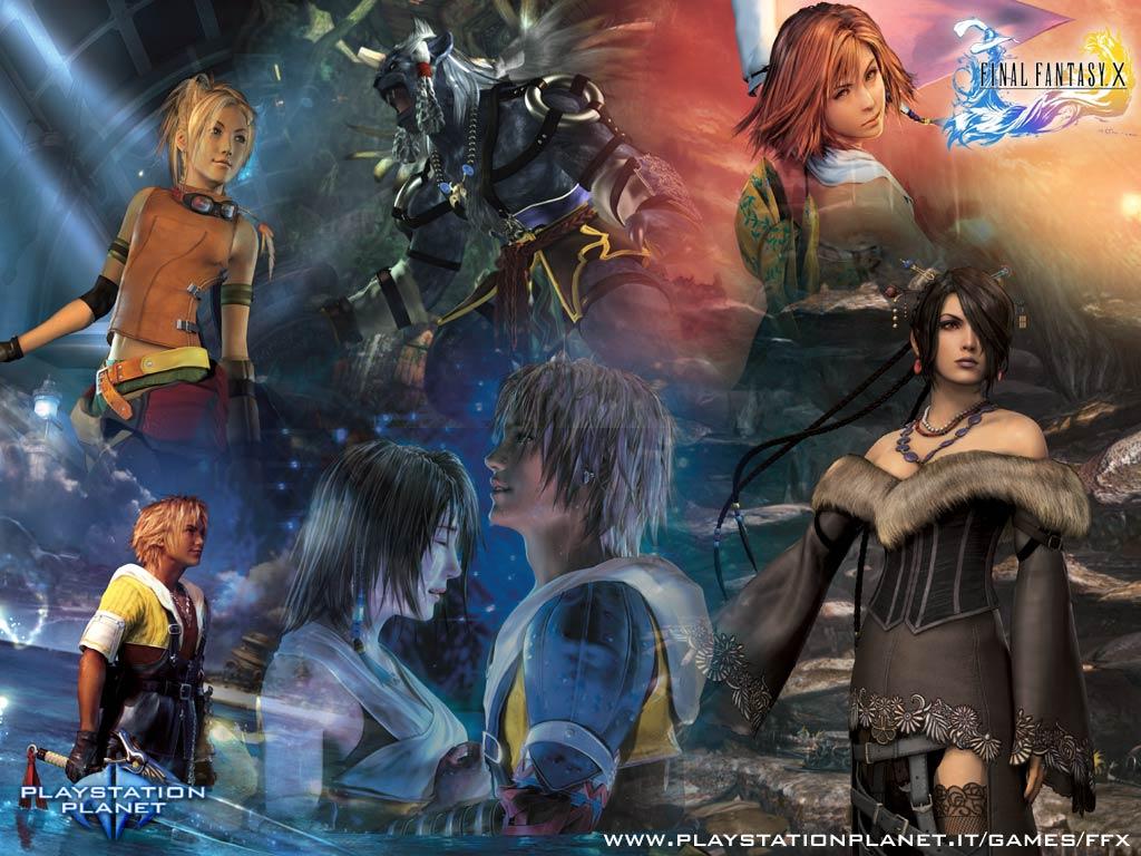 Final Fantasy X Wallpapers Wallpapersafari