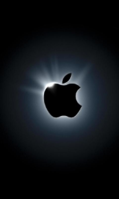 Dark Apple Logo Cell Phone Wallpapers 480x800 Hd Wallpaper For My Cell 480x800