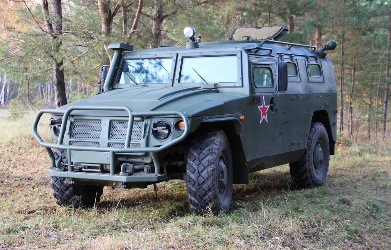 Wallpaper Tiger armored car SUV GAZ Tigr images for desktop 1332x850