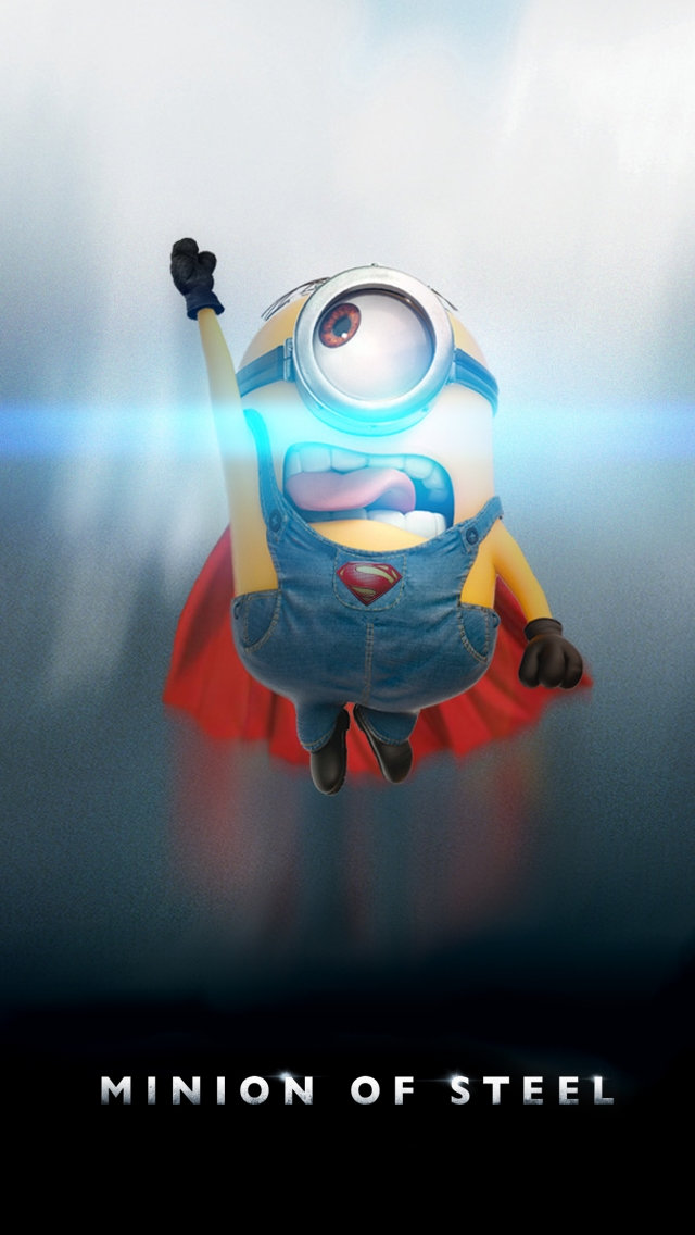 Minion Of Steel The IPhone Wallpapers 640x1136