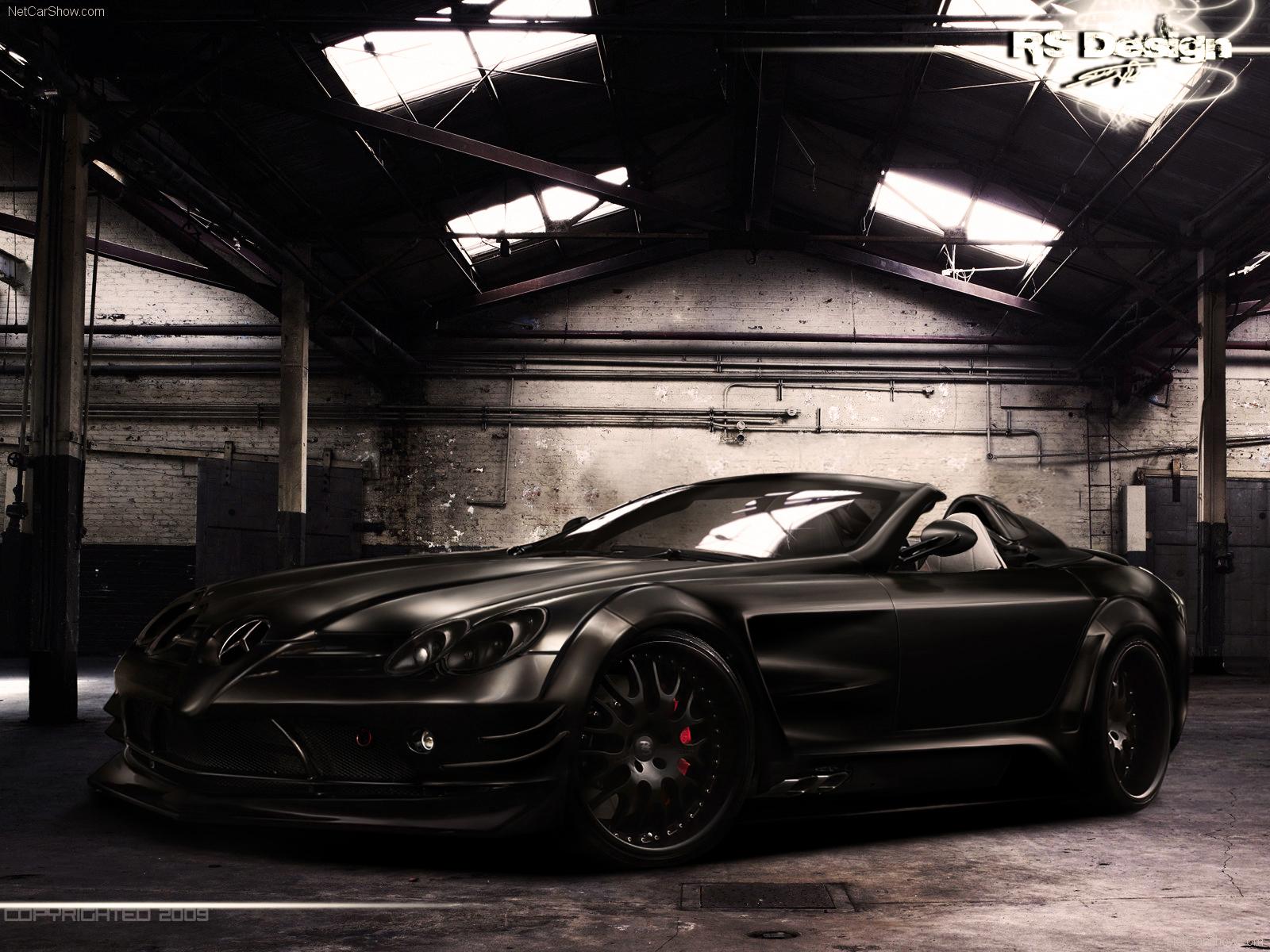 Mercedes Benz Black 1 Widescreen Car Wallpaper 1600x1200