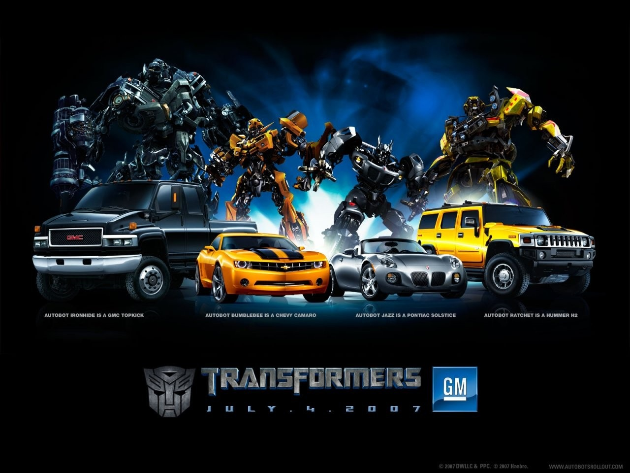 Transformers Ultimate Collection Screensavers Wallpapers Videos 1280x960