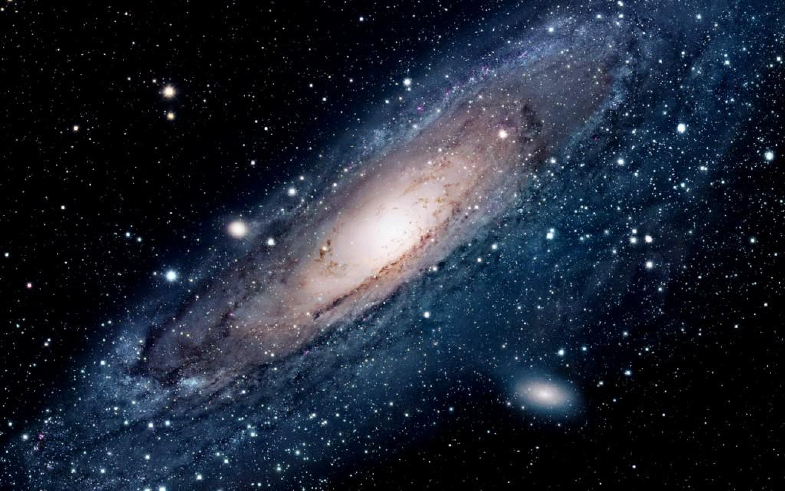 Download Andromeda Galaxy HD Wallpaper 2438 Full Size 2560x1600