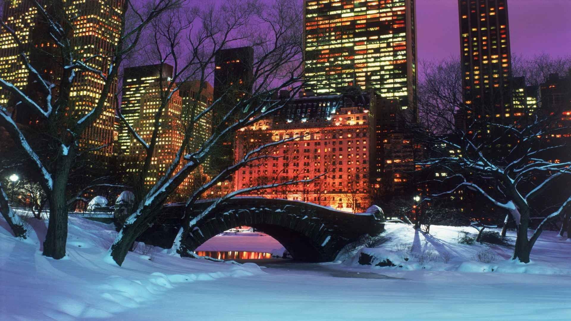New York City Wallpaper Winter City Winter Wallpaper ...