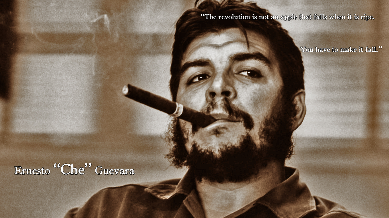 Quotes Che Wallpaper 1366x768 Quotes Che Guevara 1366x768
