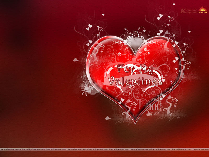 Valentine&#39-s Day Heart Many Red background 800x600