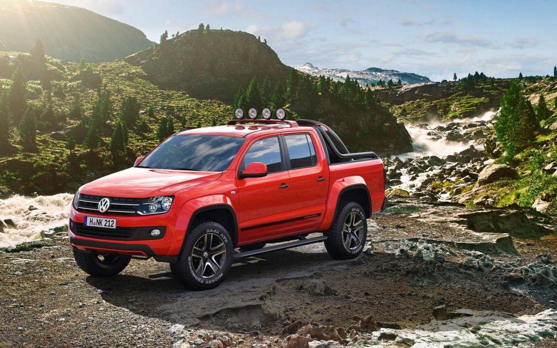 Volkswagen Amarok suve red 4x4 wallpaper 2560x1600 438343 1120x700