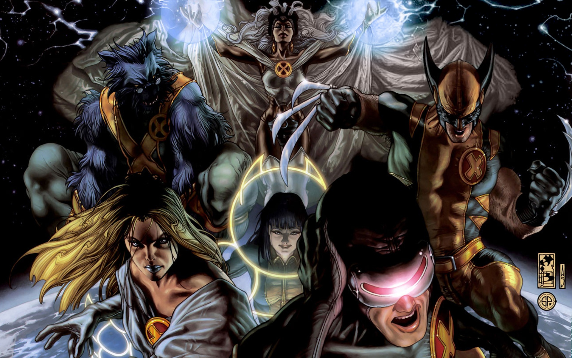 Astonishing X Men desktop wallpaper 1920x1200