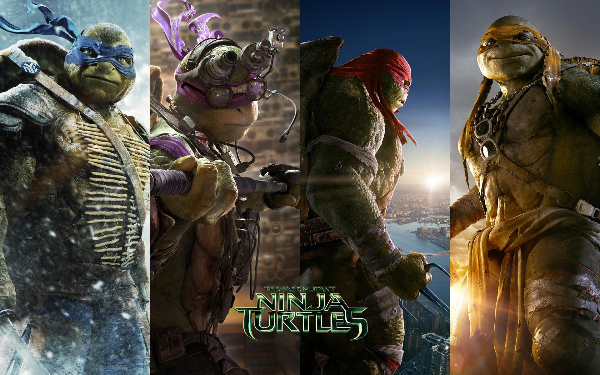 Mutant Ninja Turtles TMNT 2014 HD Desktop iPhone iPad Wallpapers 1920x1200