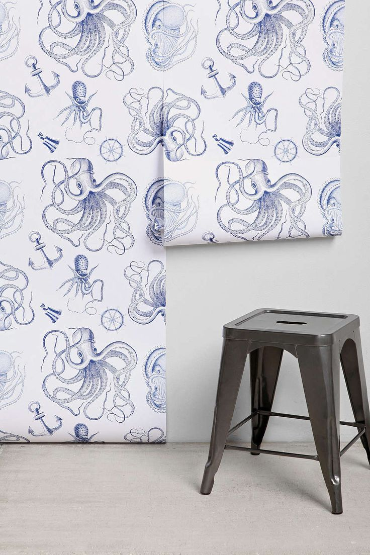 Walls Need Love Vintage Nautical Removable Wallpaper my son would sooo 736x1104
