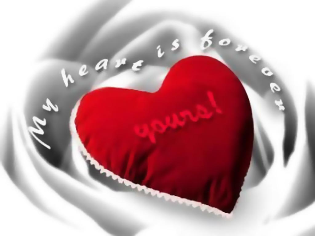 Red Heart wallpaper Desktop Wallpaper 1024x768