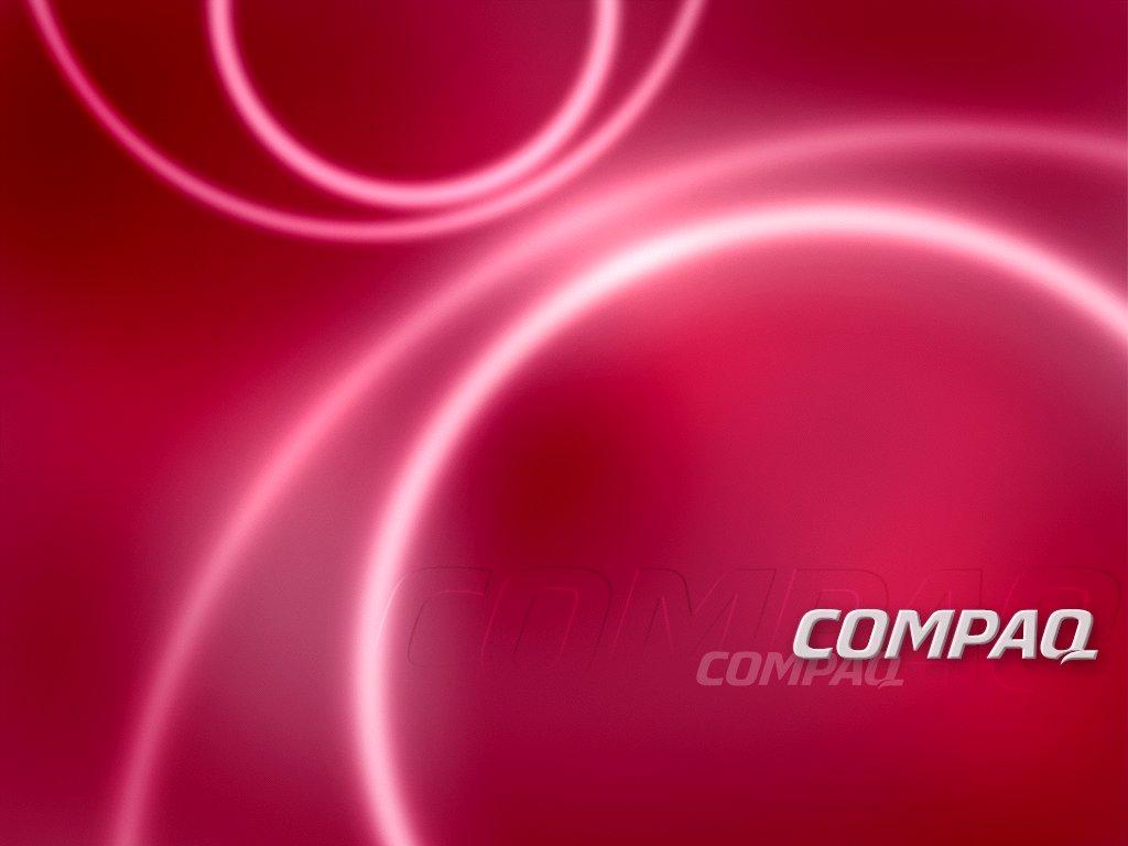 1024x768 COMPAQ pink desktop PC and Mac wallpaper 1024x768