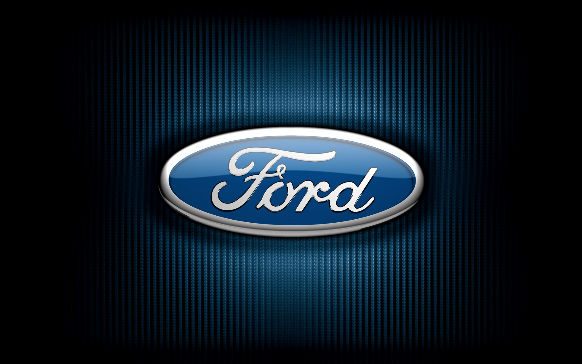 Oval Ford Logo Desktop Wallpaper 1920x1200