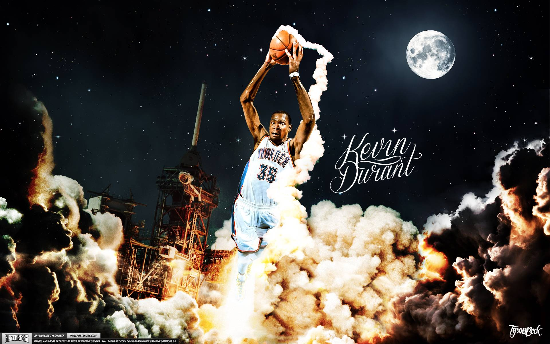 Kevin Durant Wallpapers 1920x1200