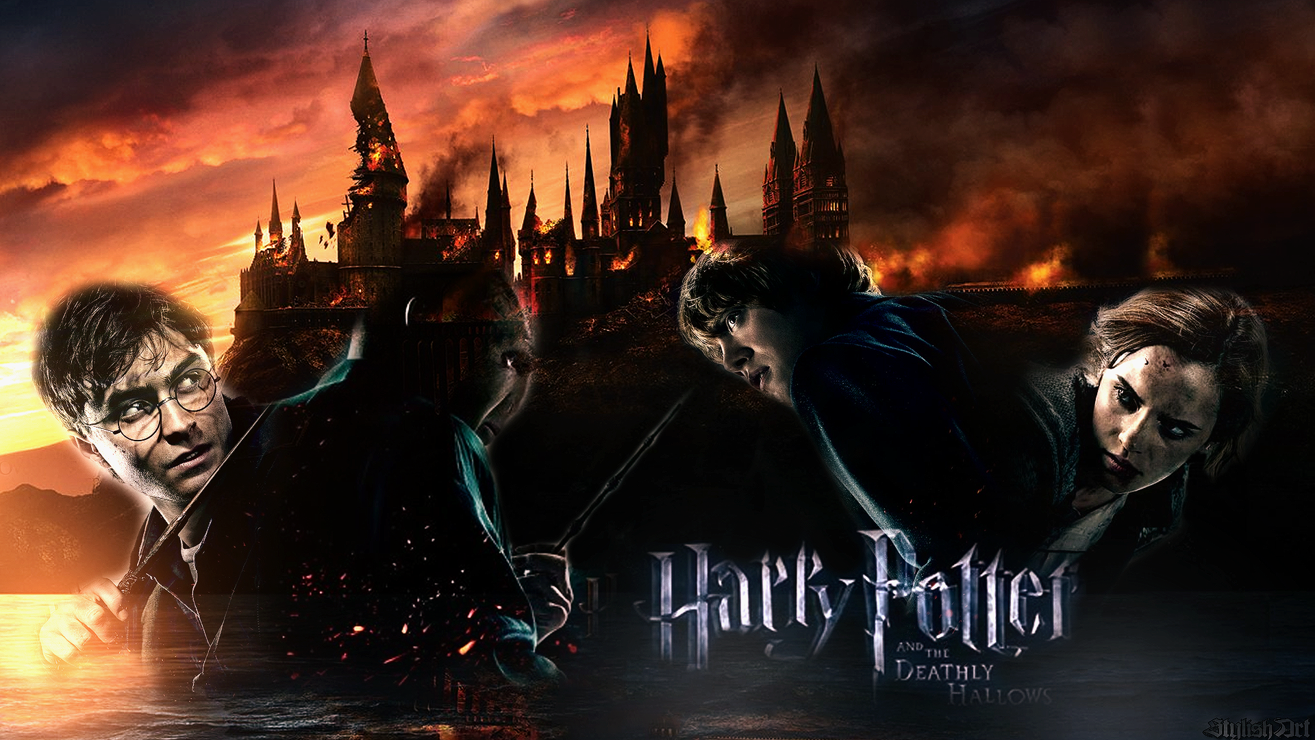 Hd wallpaper harry potter - Harry Potter Art Stylishart94