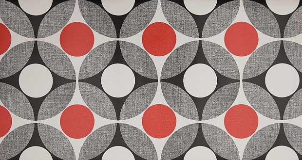 Australian Vinlon wallpaper design from the 1970s features geometric 620x330