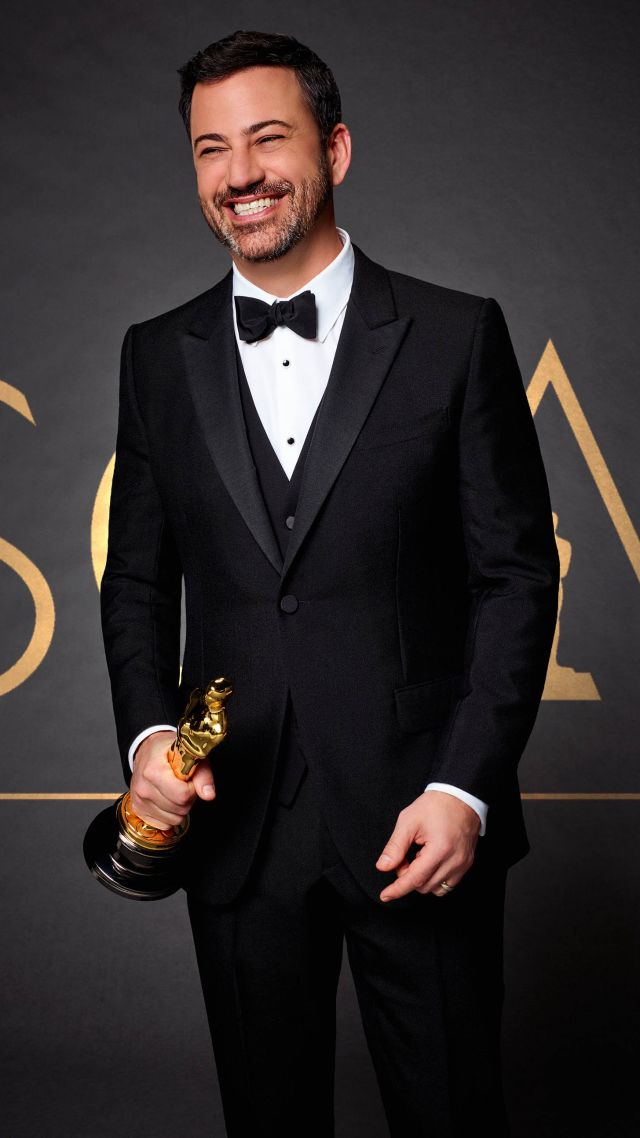 Wallpaper Oscar 2017 Jimmy Kimmel host 89th Academy Awards 640x1138