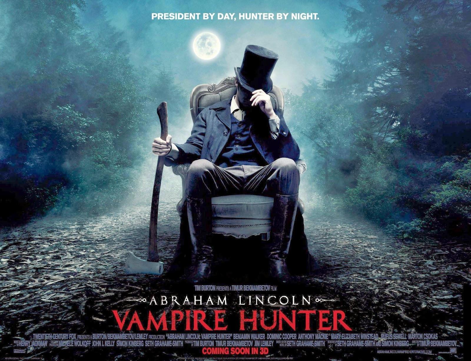 Abraham Lincoln Vampire Hunter Wallpapers HD Wallpapers 1600x1227