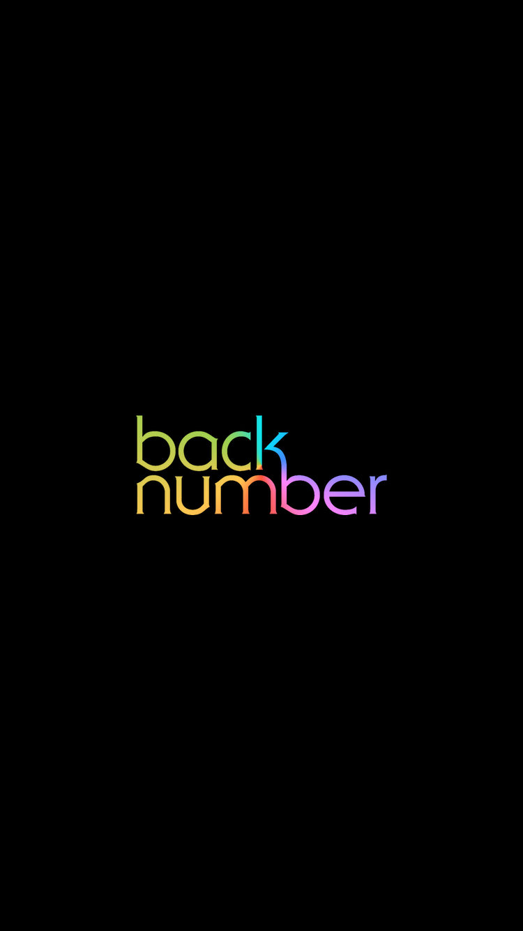 back number[11] iPhone iPhone 750x1334