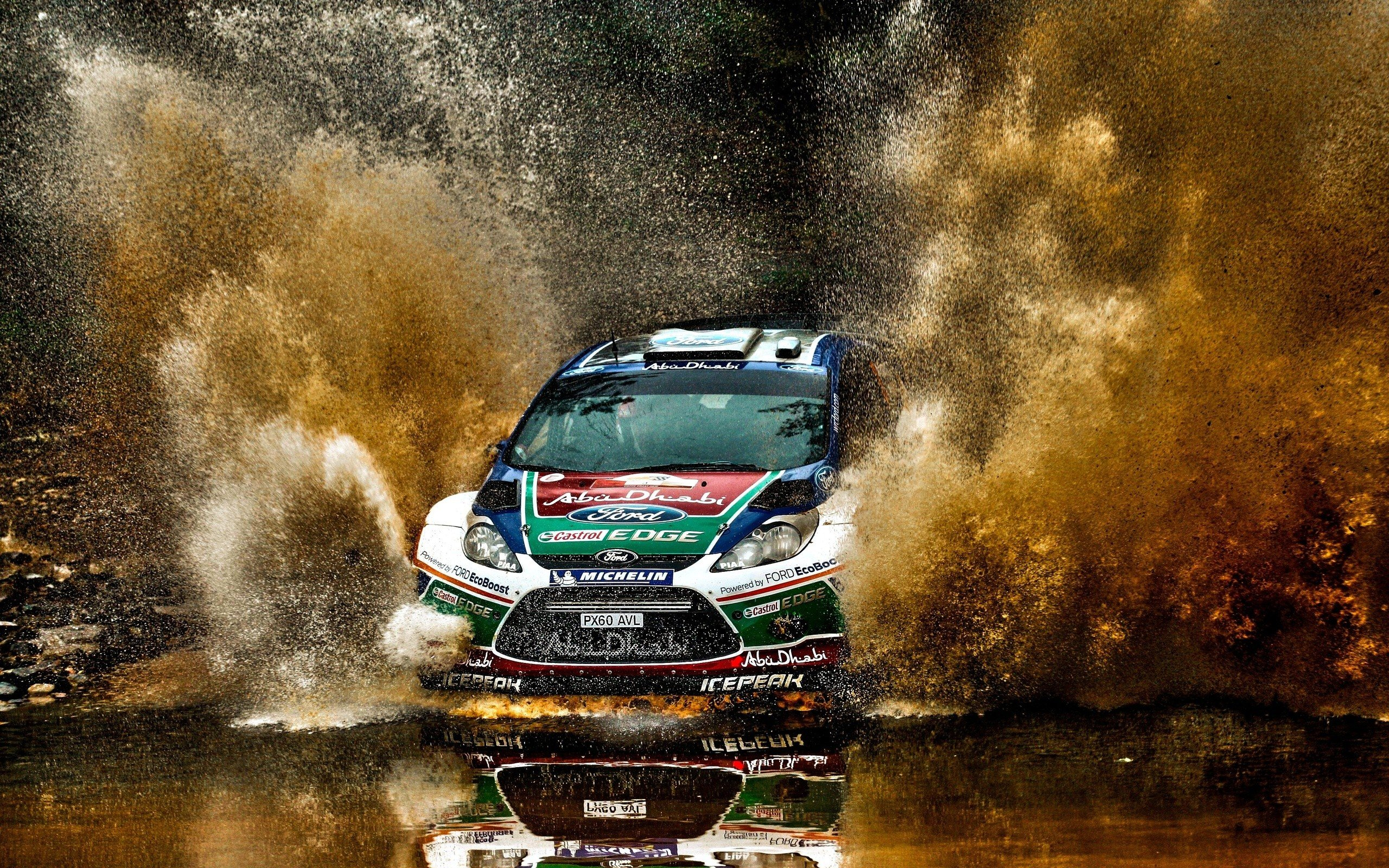 Daily Wallpaper WRC Ford Focus I Like To Waste My Time 2560x1600