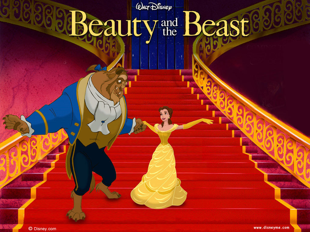 Free Download Beauty And The Beast Wallpaper Classic Disney