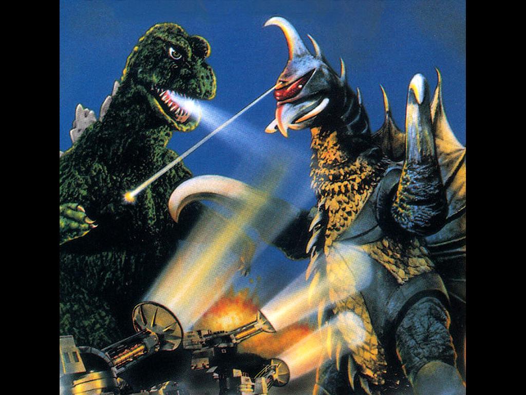 Godzilla vs Gigan Wallpapers 6 1024x768