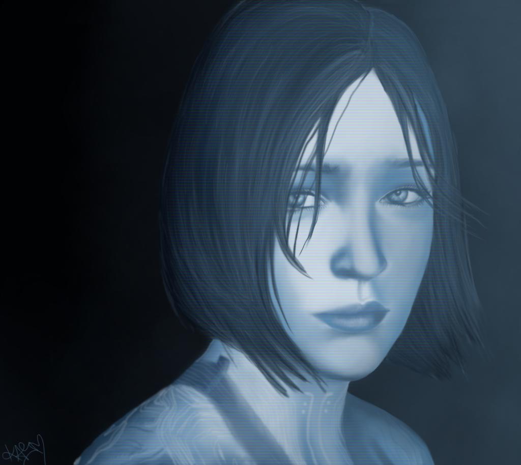 Cortana by PinkTribble 1024x914