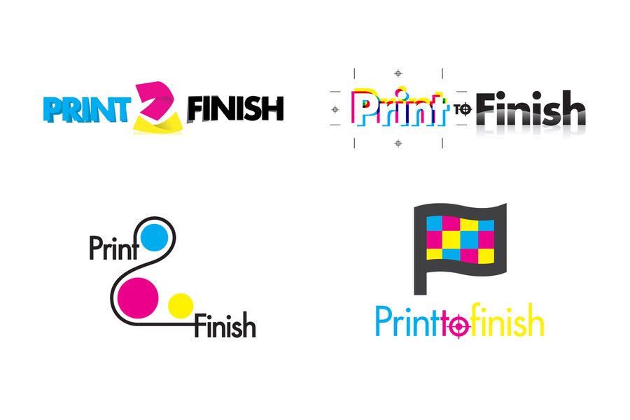 Print 2 finish logo samples by KlyrREIN 900x600
