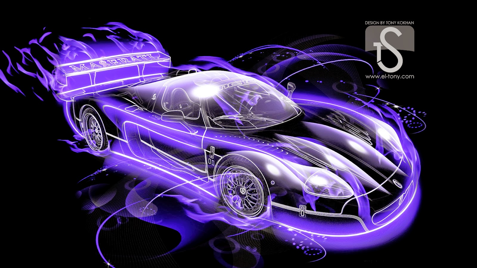 Cars View: Fire 3d wallpapers of cars for desktop