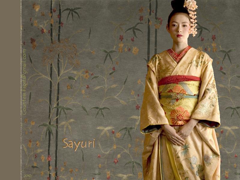 Sayuri   Memoirs of a Geisha Wallpaper 10958779 800x600