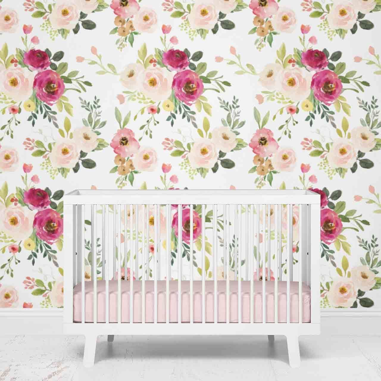 Franny s farmhouse floral removable wallpaper Artofit 1280x1280