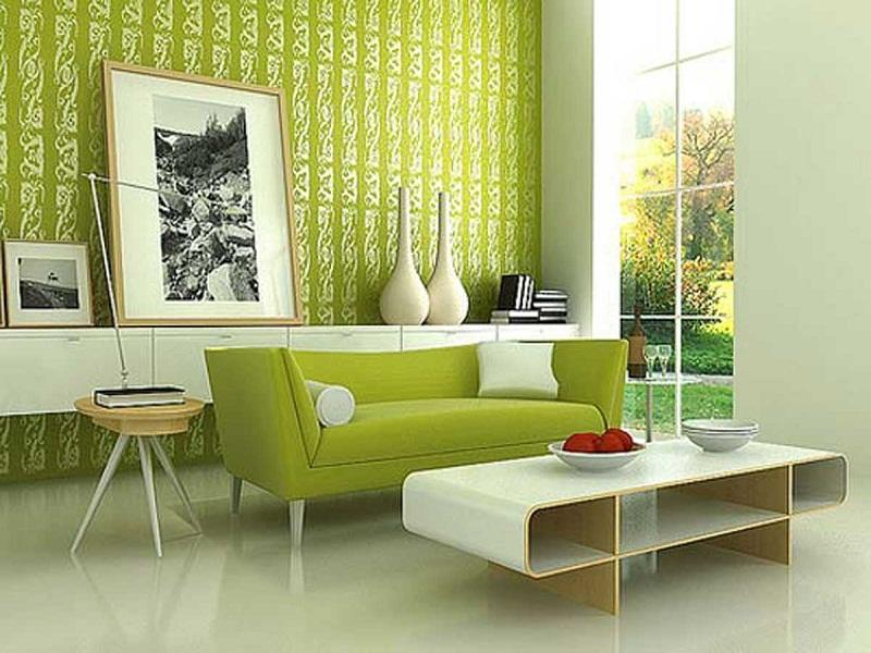 Cool Wallpapers for Home Cool Green Wallpaper For Modern Living Room 800x600