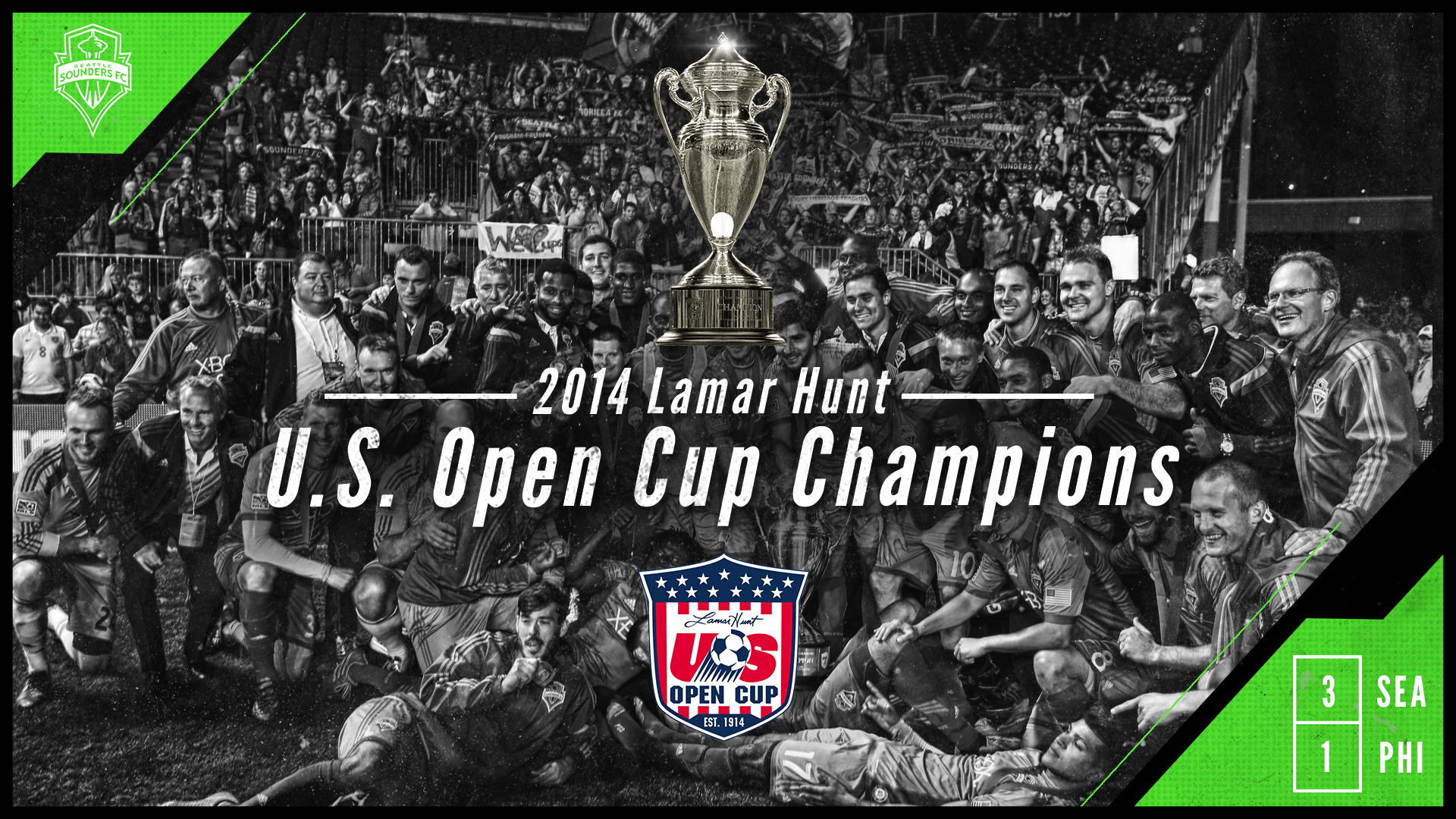 2014 U.S. Open Cup Champions! | Seattle Sounders FC